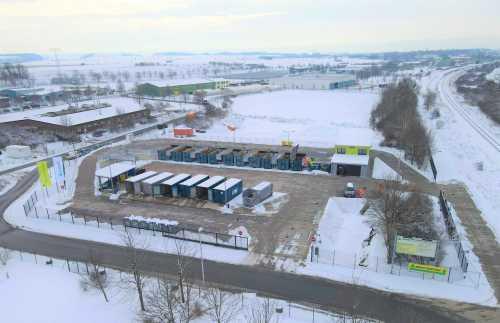 Bild - Luftbild Wertstoffhof Quedlinburg