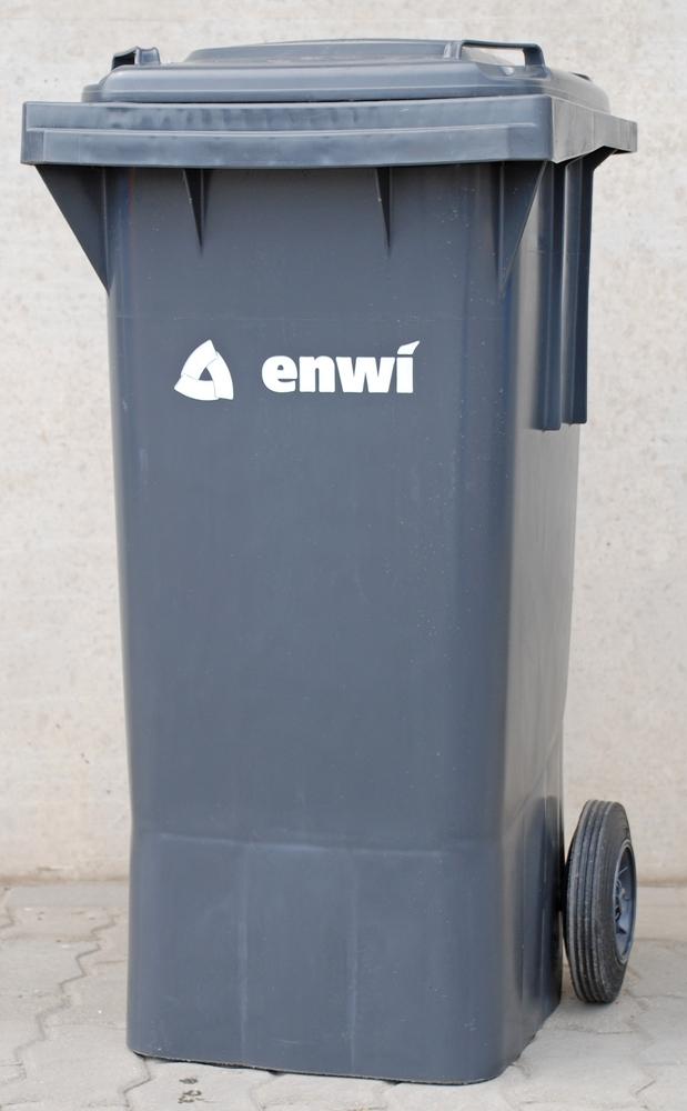 Bild: Hausmüllbehälter der enwi